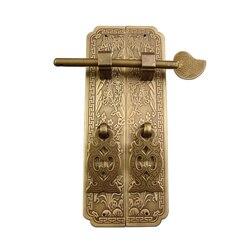 Vintage mosiężny uchwyt  szuflada kuchenna drzwi do szafki bambusowe kwiaty uchwyt meblowy gałki sprzęt szafka pochwyty  1 zestaw