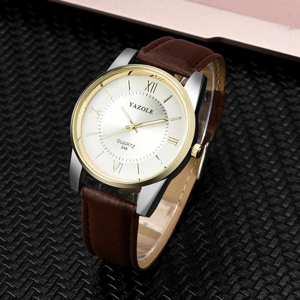 يازول 2019 موضة ساعة كوارتز ساعات رجالية العلامة التجارية الأعلى ساعة رجالي رجال الأعمال ساعة معصم Hodinky Relogio Masculino