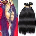 Vip beleza 7A Peruano Virgin Cabelo Liso 4 feixes cabelo Liso Peruano Extensão Do Cabelo Virgem Peruano Não Transformados Em Linha Reta