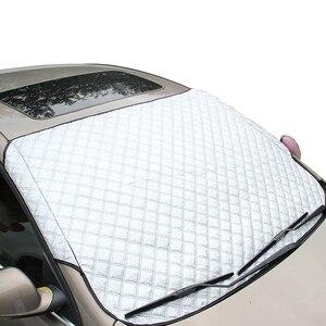 Image 3 - Новое поступление 2019, прочная защитная шторка для автомобиля, Солнцезащитная шторка для автомобиля и снега, светоотражающая шторка для внедорожника