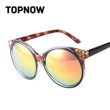 0858f54823 New Sexy Cat Eye Sunglasses Women Vintage Retro Floral Large Frame Round  Reflective Sun Glasses Gafas