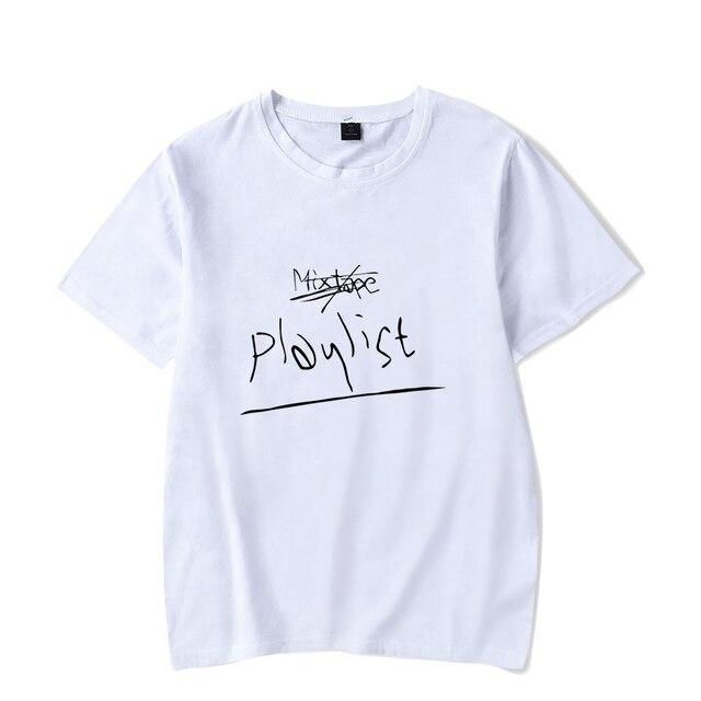 RM mono Kpop Impresso camiseta Verão Mulheres/Homens de Manga Curta Moda Camisetas Casual 2018 Hot Venda Streetwear Tee camisa Feita Sob Encomenda