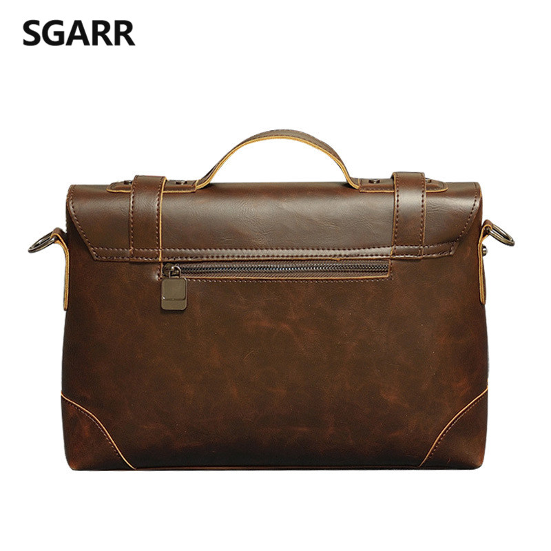 2017 casual men briefcase crazy Material Principal : Plutônio