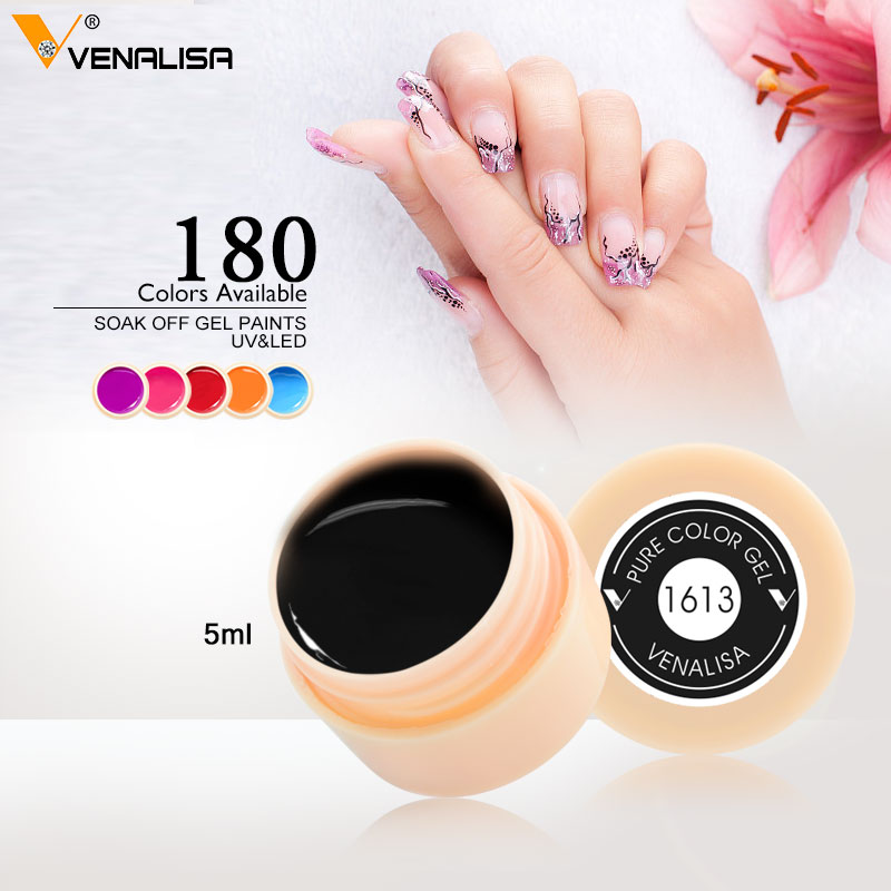 Venalisa New 2019 Maniküre Nail Art Tips 180 Farbe UV-LED tränken - Nagel Kunst - Foto 5