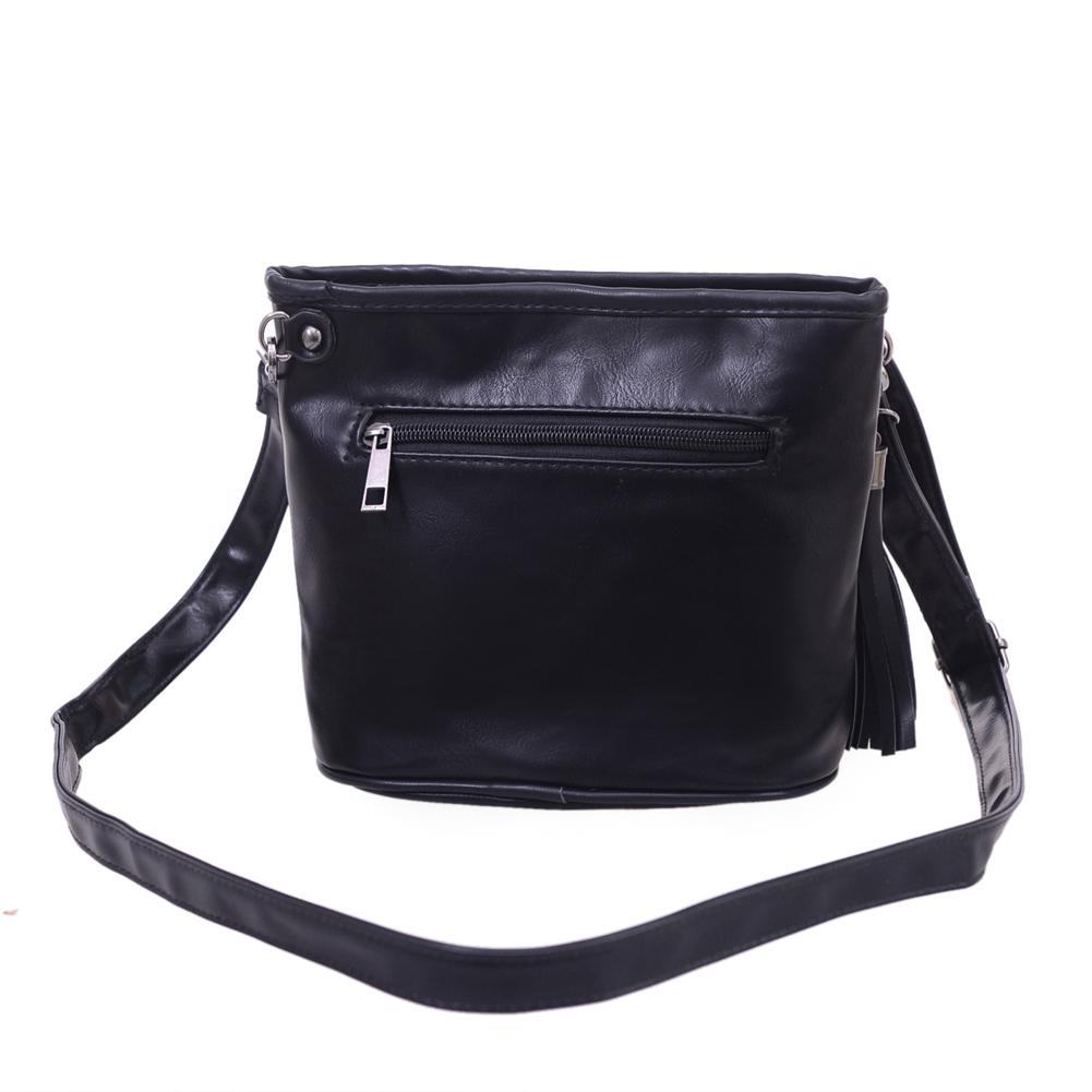 Skull Design Women Messenger Bags Handbags Shoulder Bags Satchel Clutch Girl Black Skull Crossbody Bag Bolsas Borse Feminina 4