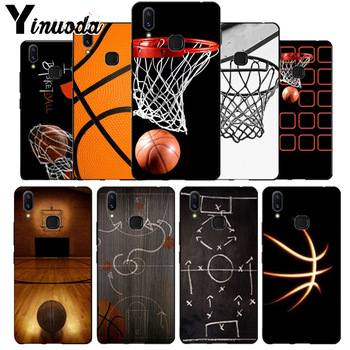 Yinuoda baloncesto baskeball bien suave tpu caso para vivo x20 más x21 ud nex s x9s V9 V7 Y 83 caso funda