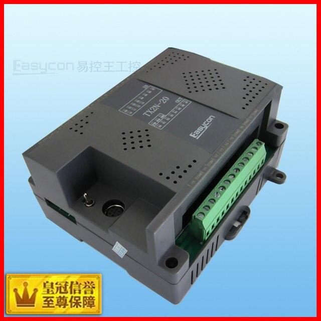 Free shipping   MITSUBISHI PLC industrial control board   PLC controller  20 point -2ad-2da  Analog temperature control