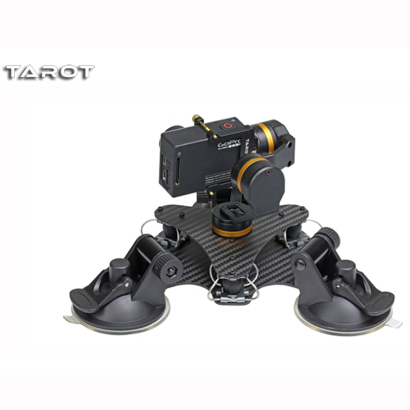 Tarot-RC ZYX T-DZ 3-Axis Metal Camera Gimbal Stabilizer Car Vehicle Mounted PTZ TL3T03 for GOPRO HERO 3/3+/4 Action Sport Camera fpv 3 axis cnc metal brushless gimbal with controller for dji phantom camera drone for gopro 3 4 action sport camera only 180g