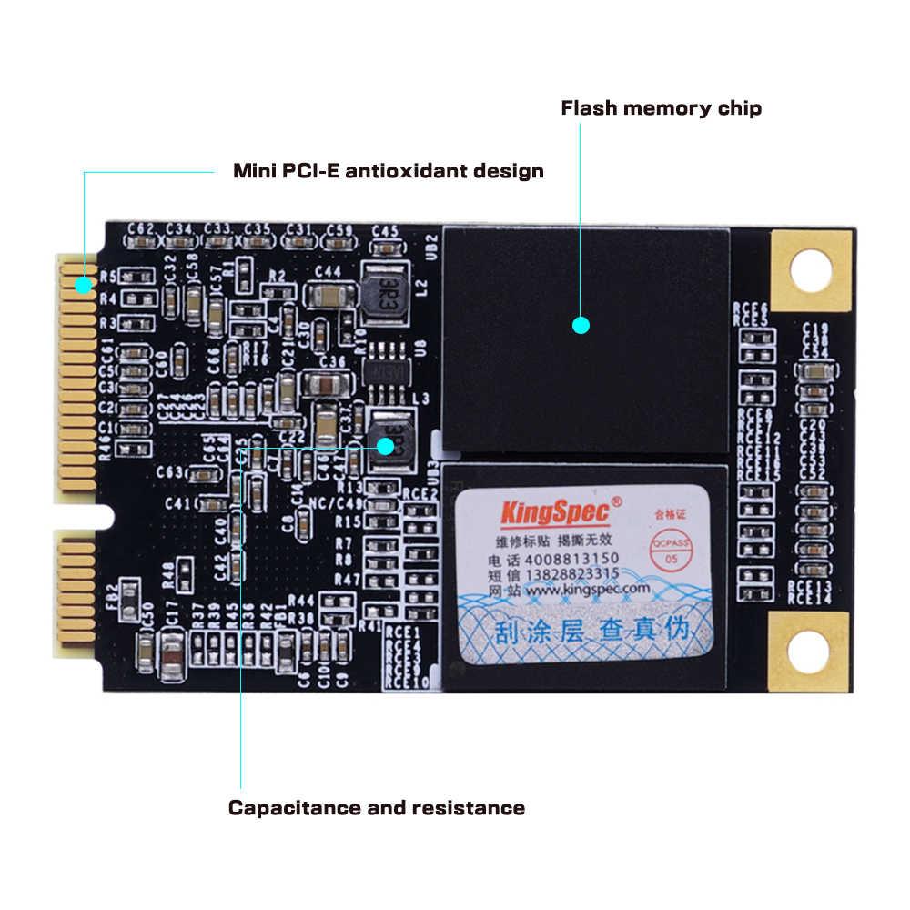 Envío Gratis MSATA MINI PCI-E 512GB 256GB 128GB 64GB MLC Digital Flash SSD unidad de estado sólido de los dispositivos de almacenamiento para ordenador PC Escritorio