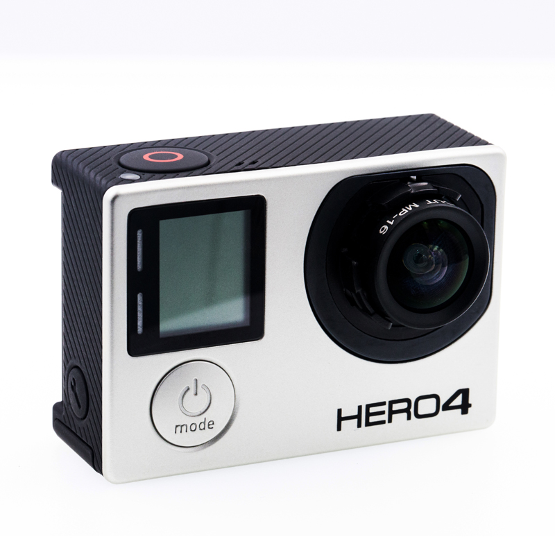 GoPro Hero4 Black Camera with Customize 12mm No Distortion Lens 1 1 8 Inch f 2