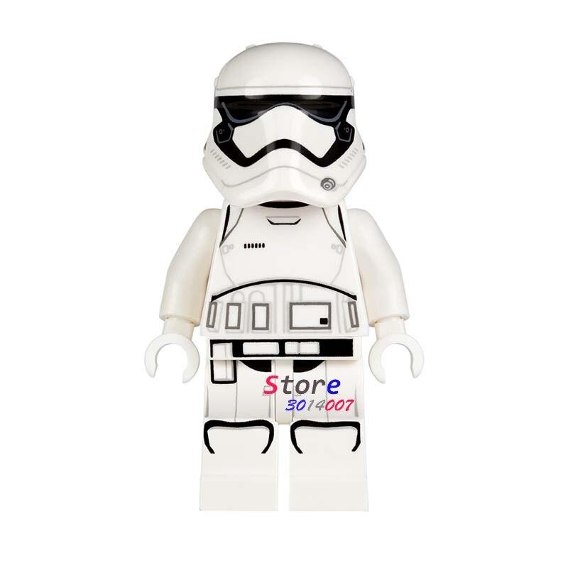 Single super heroes marvel dc comics Star Wars Storm trooper building blocks models bricks toys for children kits