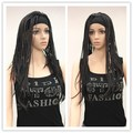 High quality Dark Brown Braids wig wigs free shipping