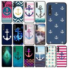 Yinuoda Anker beautiful birds and boat anchor blue TPU Soft Silicone Phone Case Cover for Huawei P20Pro P10 Plus P9 Mate 10 Lite(China)