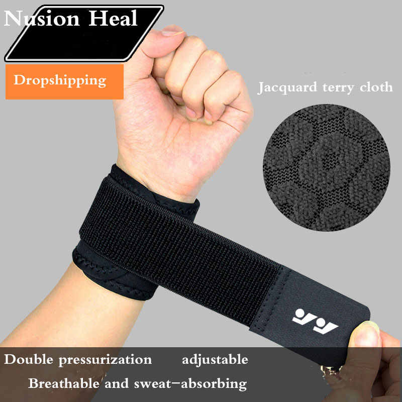 1Pcs Wrist Band Sports Wristband New Wrist Brace Wrist Support Splint Fractures Carpal Tunnel Wristbands for Fitness Gym Support