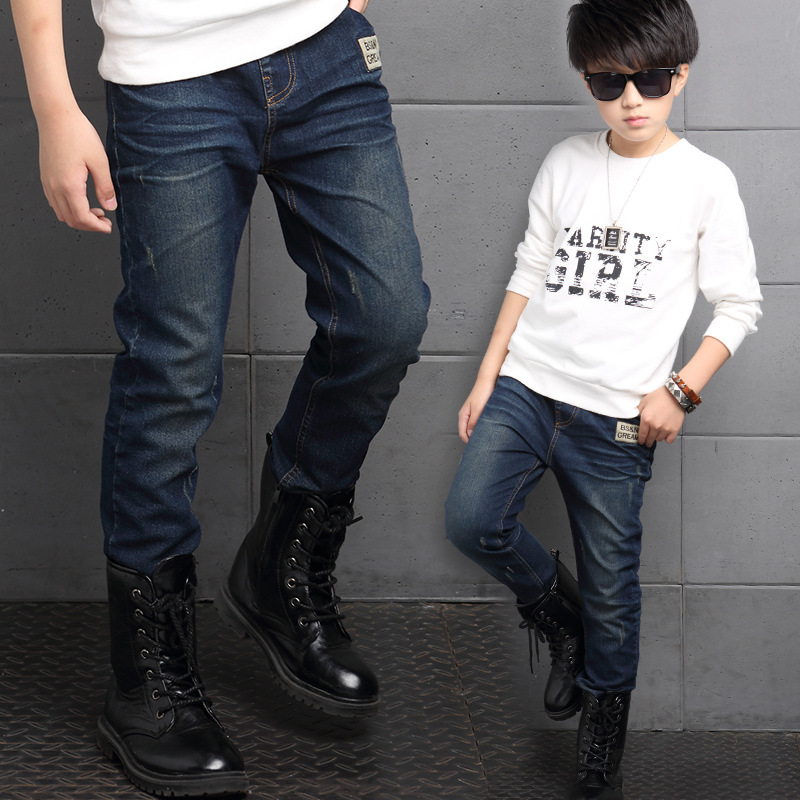 5 6 7 8 9 10 11 12 13 years boys pant autumn jeans for boys 2016 new fashion kids jeans boy. Black Bedroom Furniture Sets. Home Design Ideas