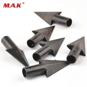 Hotest Archery Arrowheads Tips Medieval Metal Hunting For DIY Wooden Arrow Longbow Free Shipping 2