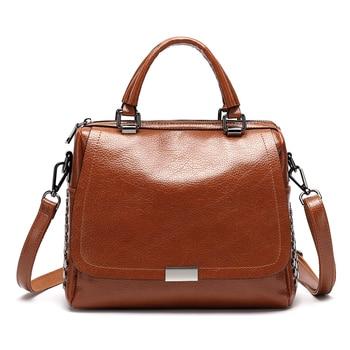 Luxury Brand Handbags Women Bags Designer Genuine Leather Women Handbags Casual Ladies Crossbody Bags For Women 2017 bucket T12