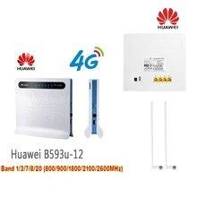 Original Huawei 4G Wireless Router B593U 12 supporting 32 users 2pcs B593 antenna