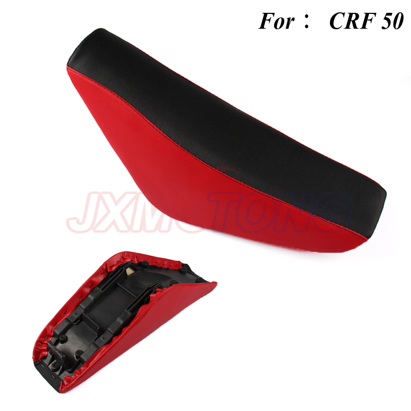 CRF 50 CRF50 TDR Motorcycle Parts Tall Gripper Seat for Honda CRF XR 50 Pit Bike 125CC Red Seats