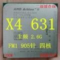 Бесплатная доставка AMD Athlon II X4 631 quad-core FM1 2.6 Г 100 Вт APU рабочего ПРОЦЕССОРА