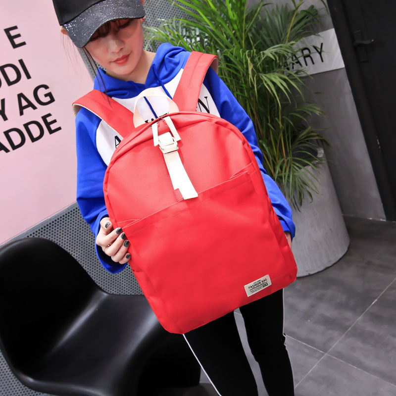 Women Canvas Backpack Fashion school bags students book bag Large backpack mochila High quality