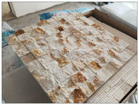 1BOX(8 pieces) American style Natural Marble Stone mosaic tile anti dust Kitchen Backsplash Wall Tile Decoration Material