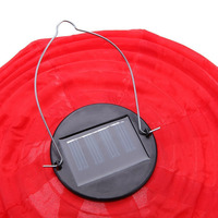 New Hot 4pcs 30CM Waterproof Solar Lantern Solar Outdoor Hanging Lights LED Holiday Lights Hanging Lantern Chinese Celebration