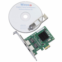 Dual Port Gigabit Ethernet Adapter Network Card With Broadcom Bcm5715 Chipset