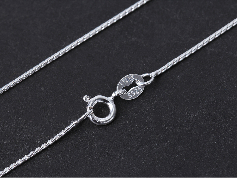 Lotus Fun Real 925 Sterling Silver Necklace Fine Jewelry Creative High Quality Classic Design Chain for Women Acessorio Collier
