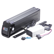 High quality 36V 10Ah 11Ah 12Ah 14Ah 500W Ebike Battery 36V Silver Fish Lithium Battery for Bafang/8FUN BBS02B motor
