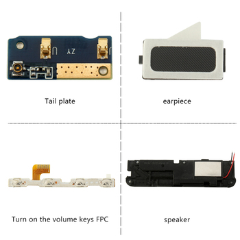 Elephone C1 mini Speaker Earpiece Power Button Flex Cable Loud Speaker USB plug Charge Board With Flex Cable PCB