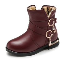 EUR 26 37 2017 New Winter Fashion Girls Boots Children Shoes Genuine Leather Kids Martin Boots