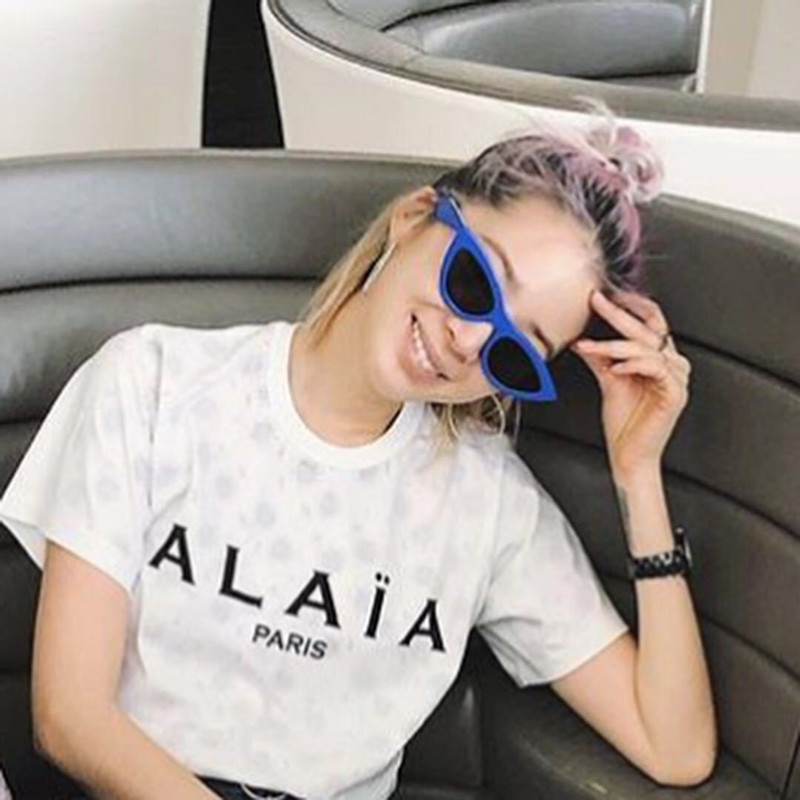 2018 Fashionable cat eye lady Sunglasses exquisite small box face repair ancient man too street to make fashion glasses BL8026