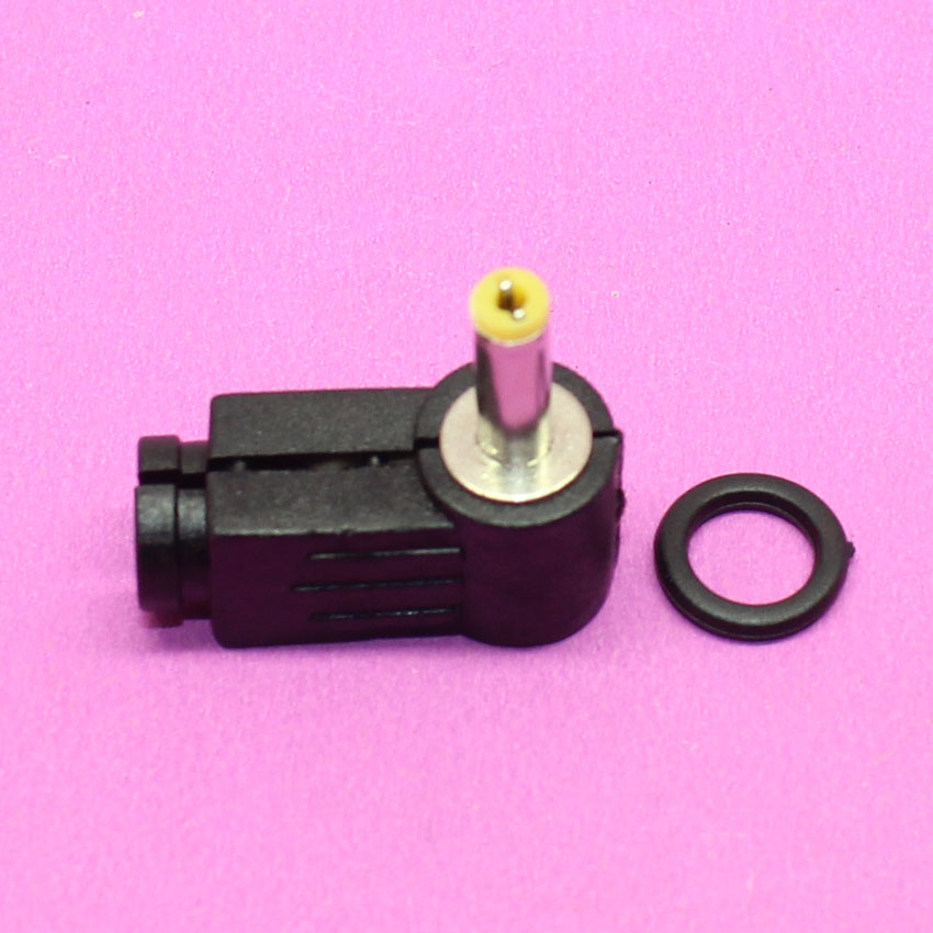YuXi 4.0mm x 1.7mm Right Angle 90 Degree DC Power Cable Male Plug Connector Adapter , Solder , DIY , 4.0/1.7mm нож к машинке fx811e 45мм 1200828