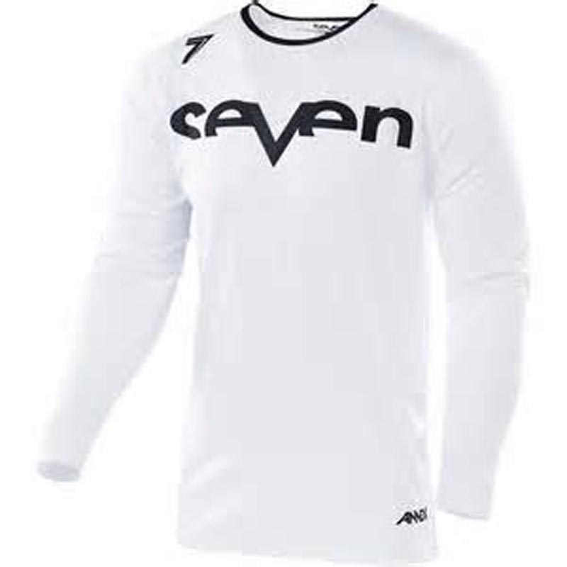 Wholesale MOTO New Downhill Jersey white Seven Long Sleeve Moto GP Mountain Bike Motocross Jersey BMX DH T Shirt Clothes in Cycling Jerseys from Sports Entertainment
