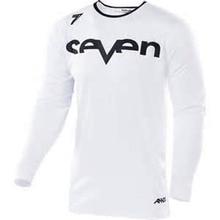 Wholesale MOTO New Downhill Jersey white Seven Long Sleeve Moto GP Mountain Bike Motocross BMX DH  T-Shirt Clothes