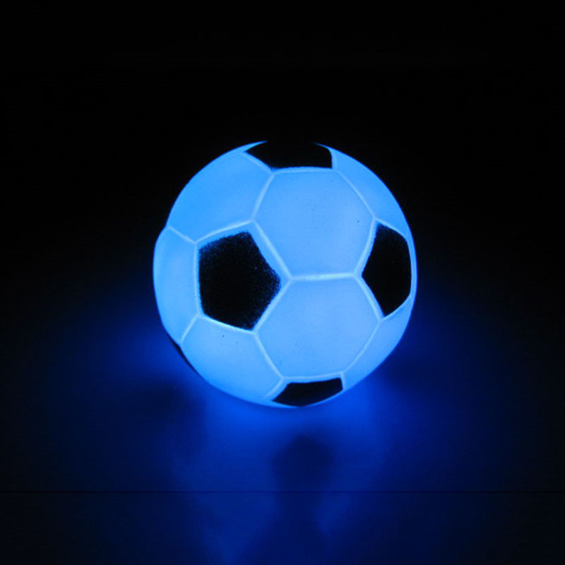 Drop Shipping Football Lamp LED Night Lamp Party Soccer Decoration KM Football For Children Student Friend Gift Light