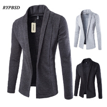 Mens Cardigan Sweater 2017 Autumn New Foreign Trade Tide Knit Cardigan Sweater Men Coat Fashion Casual V-neck Sweater Men