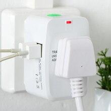 New Universal International Plug Adapter 2 Porta USB World Travel Caricatore di CORRENTE ALTERNATA Adattatore con AU STATI UNITI REGNO UNITO UE convertitore spina