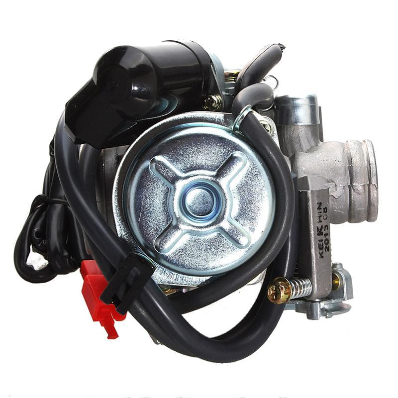 Universal 4-stroke Carburetor Carb with Automatic Choke Coil for ATV Go Kart Scooter Mot ...