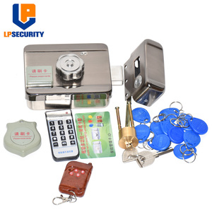 Image 3 - 20tags Access Entry Electronic Door Lock y remote control for Home Wired Video Intercom Doorbell Security System DC12V