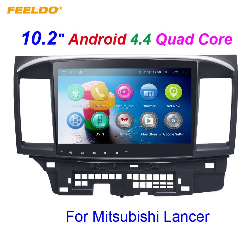FEELDO 10 2 inch Android 4 4 2 10 2 Quad Core font b Car b