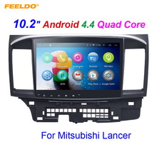 FEELDO 10.2 inch Android 4.4.2 10.2″Quad Core Car Media Player With GPS Navi Radio For Mitsubishi Lancer EX(2007-present #971