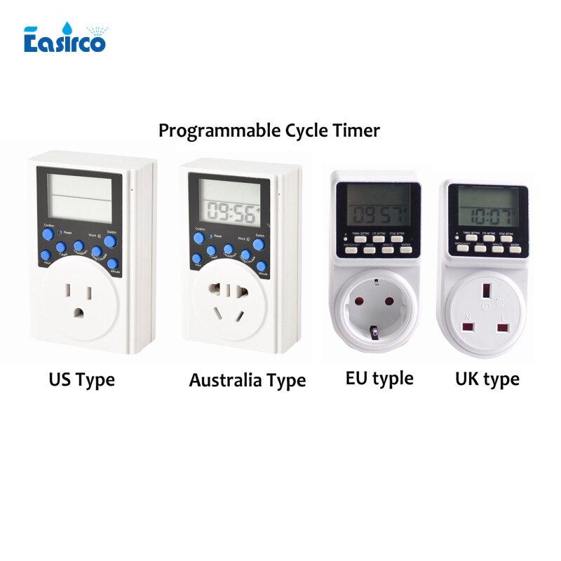 Programável temporizador Ciclo. Temporizador de intervalo. Ideal para sistema de refrigeração Da Névoa