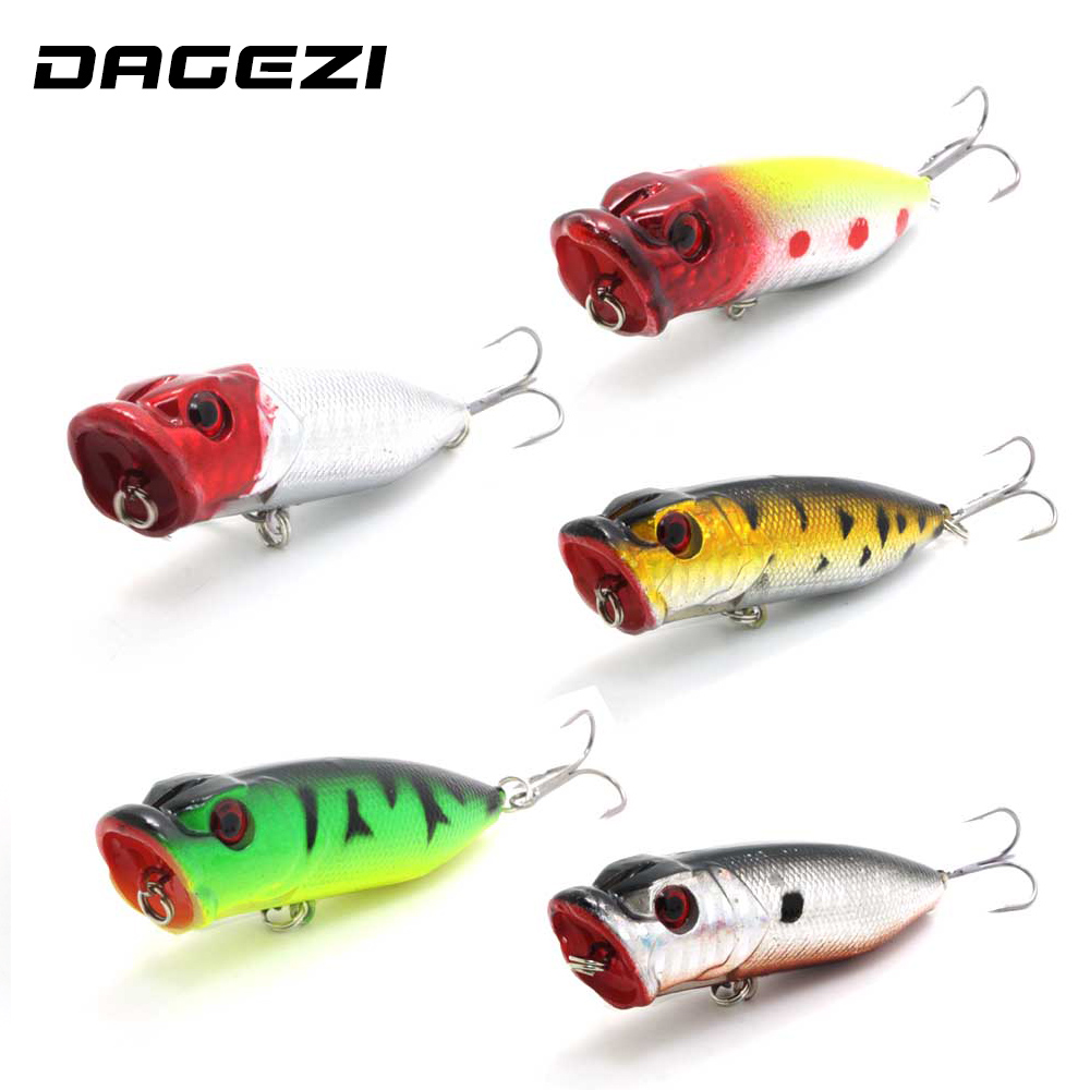 DAGEZI 5pcs/lot 3D eyes fishing lures hard bait swimbait Fishing Tackle fishing bait  Minnow Crankbait Fishing Lure wldslure 1pc 54g minnow sea fishing crankbait bass hard bait tuna lures wobbler trolling lure treble hook