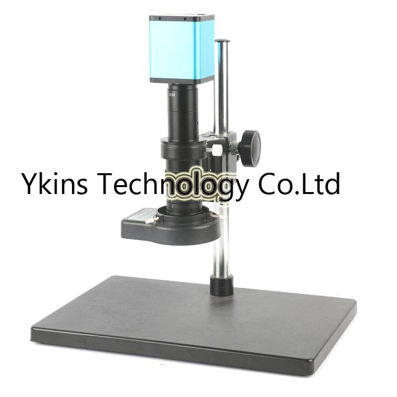 Мышь control 1080 P 60FPS SONY Датчик IMX290 HDMI видео промышленный микроскоп Камера + 180X 300X зум-объектив для ремонт телефона pcb