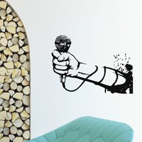 DIY Poster Paper Wall Stickers Home Decor Wall Decal Vinyl Sticker For Music Studio KTV A