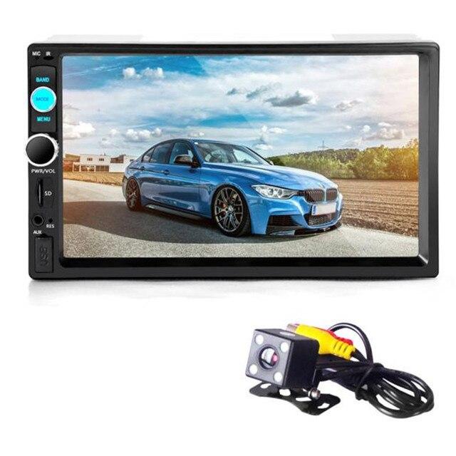 G1 Tiptop Bluetooth Стерео Аудио В Тире Вход Aux Приемник SD/USB MP5 Плеер 8702 + Камера Стайлинга автомобилей Электронные Аксессуары