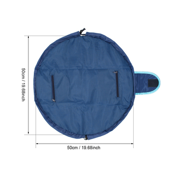 Toiletry Wash Cosmetic Bag Makeup Storage Case Organizer Mermaid-Color Drawstring shrink Women Fashion Travel Accessories Items 2