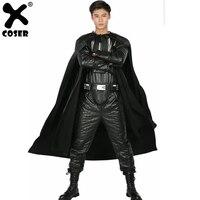 XCOSER Дарт Вейдер костюм для взрослых полный наряд для Хэллоуина Косплэй вечерние шоу костюм для Для мужчин Взрослый Костюм профессиональных